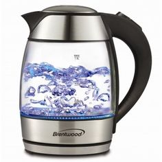 Brentwood Appliances KT1950BK Tempered Glass Tea Kettles 18Liter Black >>> Details can be found by clicking on the image.