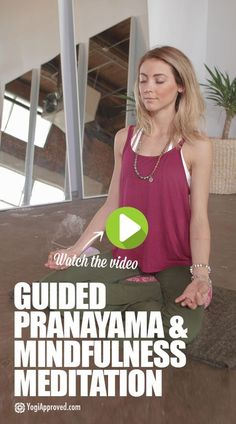 Guided Pranayama and Mindfulness Meditation for a Calm and Peaceful Mind (Video) Guided Pranayama and Mindfulness Meditation for a Calm and Peaceful Mind (Video) Meditation For Health, Walking Meditation, Easy Meditation, Meditation Benefits, Meditation For Beginners, Meditation Techniques, Chakra Meditation, Meditation Music, Mindfulness Meditation