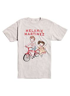 "Light grey T-shirt from Melanie Martinez with a colorful <i>Cry Baby</i> inspired storybook illustration style design by Chloe Tersigni on front.<br><ul><li style=""list-style-position: inside !important; list-style-type: disc !important"">100% cotton</li><li style=""list-style-position: inside !important; list-style-type: disc !important"">Wash cold; dry low</li><li style=""list-style-position: inside !important; list-style-type: disc !important"">Imported</li><li style=""list-style-position…"