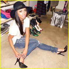 Cute Shoes, Jeans, hat