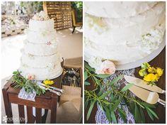 Wedding: John & Victoria // San Dieguito County Park, Del Mar, CA » Analisa Joy Photography // wedding cake