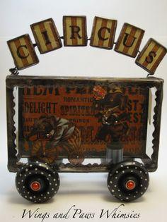 Mo's circus wagon