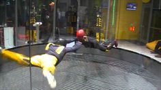 Skydive challenge HURRICANE FACTORY PRAGUE aneb simulátor volného pádu