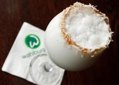 Coconut Snowball Drink! (alcoholic)