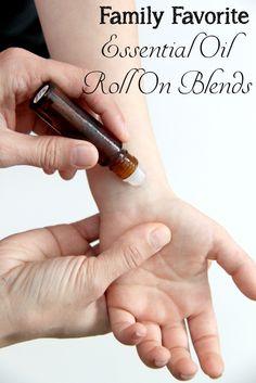 DoTerra Essential Oils Family Favorite Roll On Blends