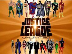 Justice League Unlimited and Justice League- Batman Beyond