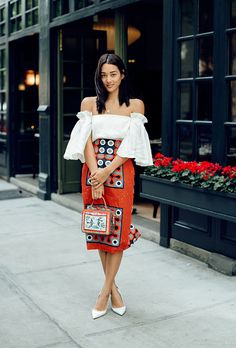 Trending: Orange   33 Stylish Ways to Wear this Bold Color Like a Street-Style Star @stylecaster
