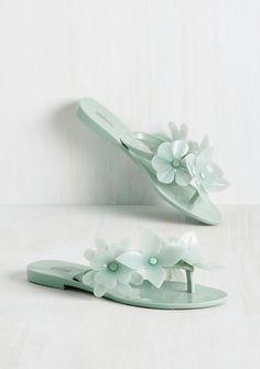 Mint Sandals - LOVE!