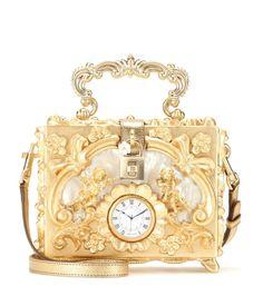 mytheresa.com - Borsa a tracolla Dolce Box con pelle e decorazione - Luxury Fashion for Women / Designer clothing, shoes, bags