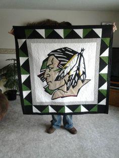UND Sioux mascot