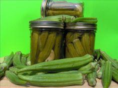 Pickled Okra.