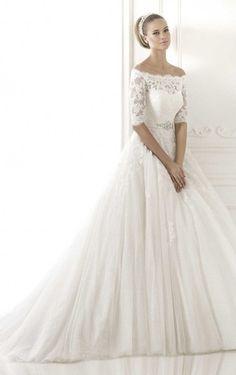 Exquisite A-Line Floor-Length Off The Shoulder Dress