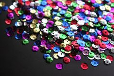 5mm Multi Sequins with Tin