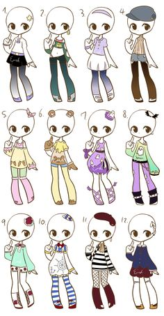 Outfit adopts :CLOSED: by LukasB-adopts.deviantart.com on @DeviantArt