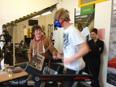 Exercise metabolism testing with Fitmate PRO @ Cornwall Duchy College, via Flickr.