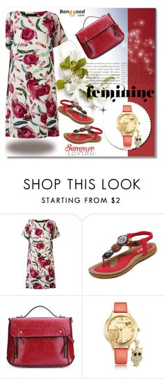 """Banggood 1"" by mellie-m on Polyvore featuring moda"