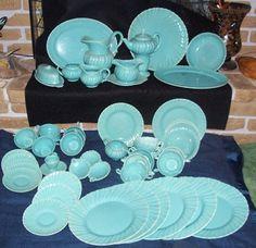Two Franciscan Ware, Coronado Pattern, Aqua, Tea Coffee Cups and ...