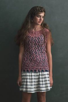 This crochet lace top is stunning. My Favorite Crochet Lace Patterns - Crochet Daily - Blogs - Crochet Me