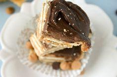 Bakergirl: Salt River Bars.- caramel / peanut butter/ crackers