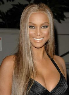 tyra banks hair just for this color :ash blond