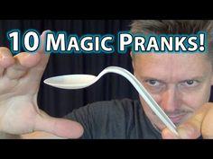 10 MAGIC PRANKS!! - How to do tricks you can do NOW! - YouTube