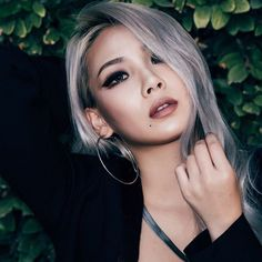 Pin for Later: These Iconic Korean Pop Stars Will Inspire Your Next Makeover CL
