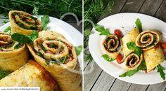 Low-Carb: Pizzarolle