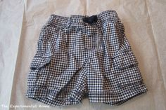 Make a pattern from existing shorts – without taking them apart
