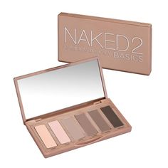 Naked2 Basics Eyeshadow Palette contains a variety of blendable matte nudes perfect for creating simple, natural eye makeup looks for day or dramatic smokey eye looks for night.   This nude eyeshadow palette contains velvety matte finish, neutral eyeshadows in everyday hues from taupe colors to brown shades that complement a range of skin tones for any eye colors or eye shapes.  On days when you're craving more colorful eye shadow looks, pair with your favorite shimmer, metallic, or glitter…