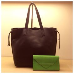 Louise tote and envelop wallet