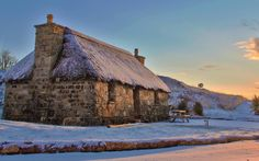Mary's Thatched Cottages, Elgol, Isle of Skye | 14 Dreamlike, Snug, And Romantic Winter Hideaways In Scotland