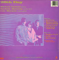 Superb 1985 EP from Barbara Manning and Marquis Cole's first band. 28 Days, Marquis, Label, Movie Posters, Marquess, Film Poster, Billboard, Film Posters