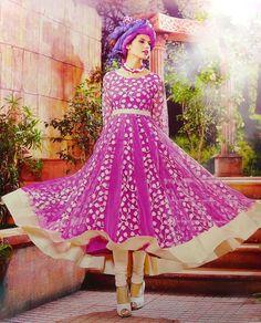 Indian Pakistani Suit Bollywood Anarkali Ethnic Designer Dress Salwar Kameez in Clothing, Shoes & Accessories, Cultural & Ethnic Clothing, India & Pakistan | eBay