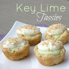Key Lime Tassies