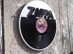 Re-purposed recycled Vinyl Record   Frank Zappa Vinyl by ReSpinIt