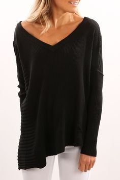 Need Your Love Jumper Black
