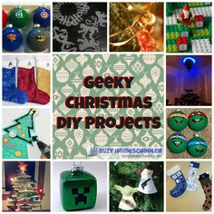 Star Wars, Dr. Who, Minecraft and more great holiday activities for geeks (like us) :)