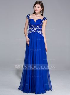 Prom Dresses - $152.99 - A-Line/Princess Sweetheart Floor-Length Chiffon Prom Dress With Ruffle Beading Sequins (018025657) http://jjshouse.com/A-Line-Princess-Sweetheart-Floor-Length-Chiffon-Prom-Dress-With-Ruffle-Beading-Sequins-018025657-g25657?snsref=pt&utm_content=pt