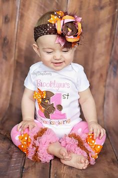 17 Best Thanksgiving Baby Outfits Images On Pinterest Thanksgiving