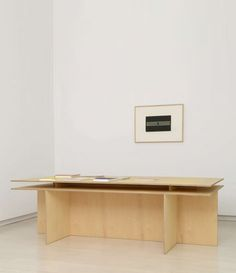 Donald Judd - Desk - Galería Elvira González