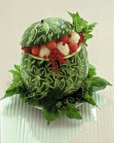 watermelon centerpiece