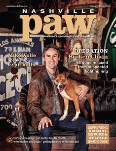 American Pickers star Mike Wolfe teams up with Nashville Paw magazine to help  restore the image of America's pit bulls