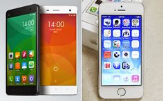 iPhone 5S vs Xiaomi Mi4, What are the differences between the Xiaomi Mi4 and the Apple iPhone 5S? Compare the Apple iPhone 5S specifications with the Xiaomi Mi4 specs.  Read more at: http://www.4gtricks.com/2014/08/iphone-5s-vs-xiaomi-mi4-comparison.html  #apple #iphone #xiaomimi4 #xiaomi #android #ios7 #smartphones #iphone55svsxiaomimi4