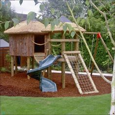 Imagine a tree house, Treehouse Life create and make happen dream treehouses in the UK and worldwide, what do you want your tree house to be? Garden Landscape Design, Garden Landscaping, Nest Swing, Building For Kids, Life Design, Walkway, Play Houses, Woodland, Fantasy