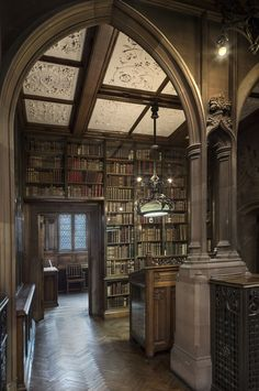 One of the view in the John Rylands library, in Manchester.