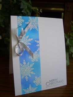 Christmas Snowflakes by stampin'nana - Cards and Paper Crafts at Splitcoaststampers