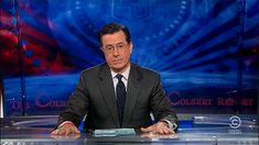 A list of comedians who could take over the Colbert Report when Stephen Colbert takes over Late Night for Letterman. Stephen Colbert, Colbert Report, John Oliver, Gif Animé, High Five, Funny People, Funny Things, Funny Stuff, God Bless America