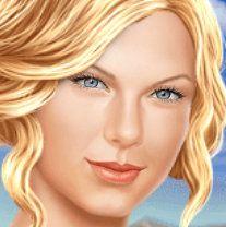 Taylor Swift Gerçek Makyaj Oyunu Amerikalı ünlü söz yazarı, şarkıcı ve aktrisin kulis odasına girerek, Taylor Swift Gerçek Makyajı hakkında bilgi alacağız. Ünlü aktrisin güzellik sırlarının neler olduğunu yakından göreceğiz. Taylor Swift'e manikür,pedikür, saç kesimi, cilt bakımı, güzellik aksesuarları gibi başlıca değişiklikleri özel stilist olarak bu kez siz karar vereeksiniz.