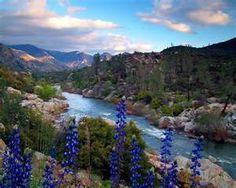 Kern River, California ... need to take a nice trip up there soon! Old friends, good times, beautiful scenery. Great to visit, but wouldn't want to live there ;)