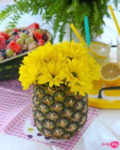 Ananasowy wazon DIY. - zobacz jak zrobić na twojediy.pl